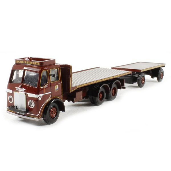 B-T Models Leyland Hippo Flat & Trailer - Jacobs Biscuits