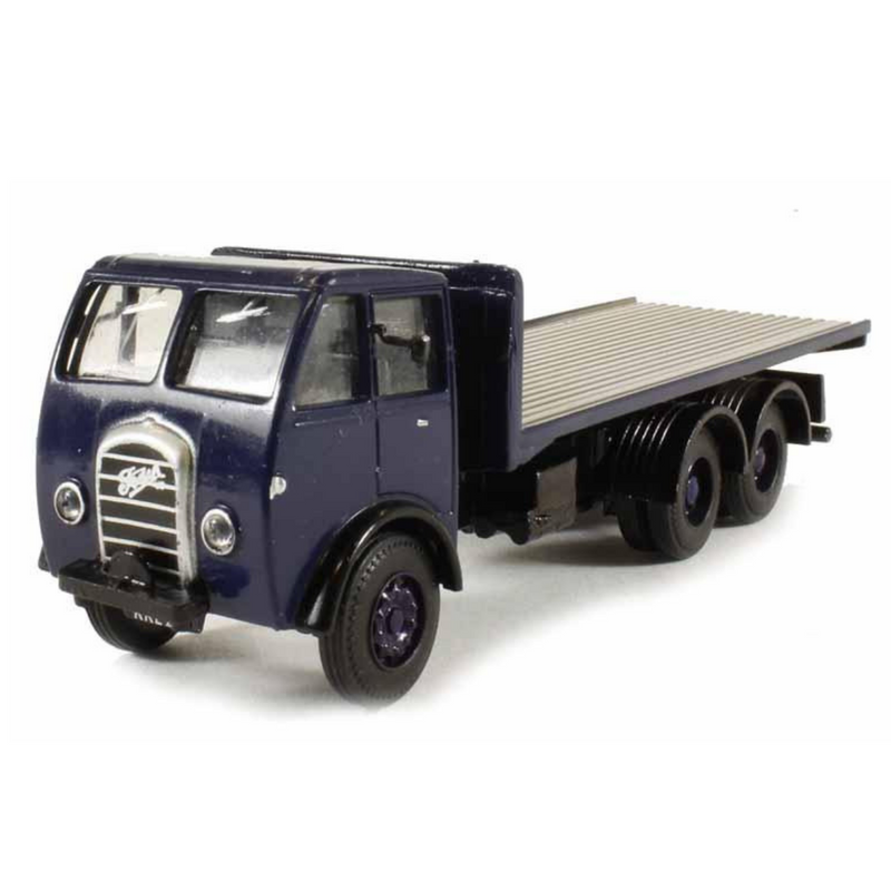 B-T Models Foden DG 3ax Flatbed - Dark Blue
