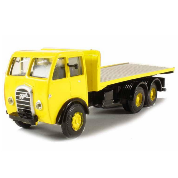 B-T Models Foden DG 3ax Flatbed - Yellow