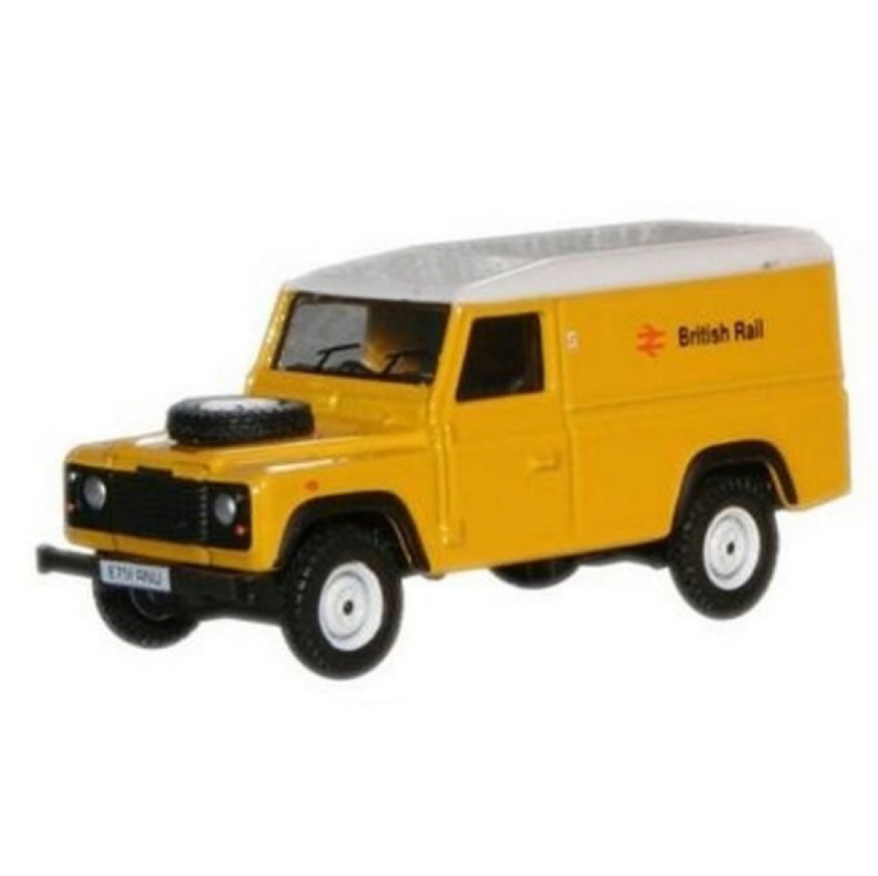 Oxford Diecast British Rail Land Rover Defender