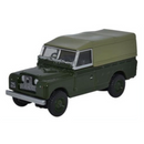 Oxford Diecast Land Rover Series II Canvas Back Bronze Green