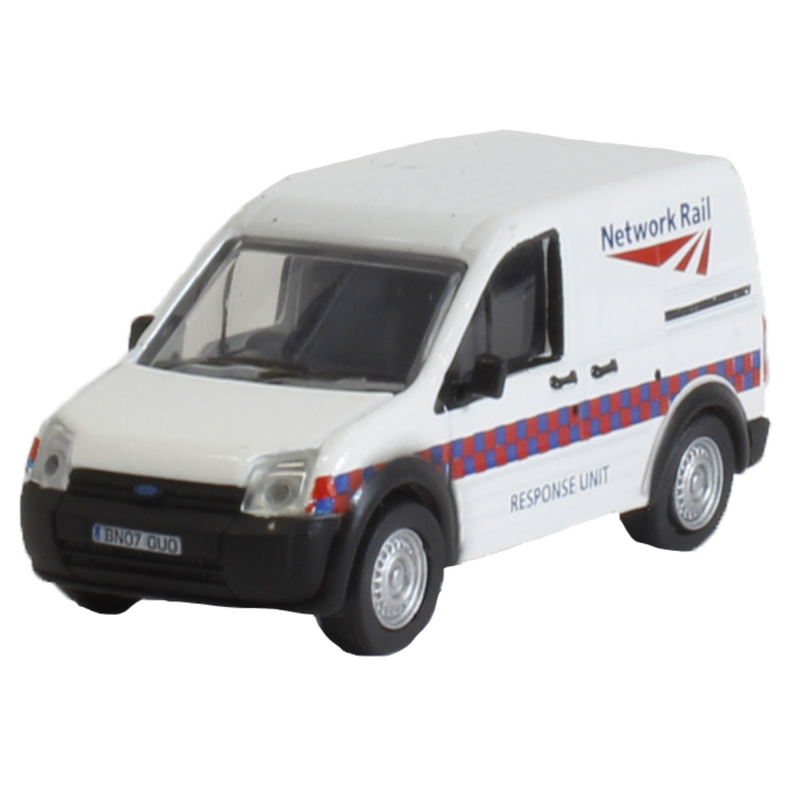 Oxford Diecast 76FTC002 Ford Transit Connect - Network Rail Response Unit