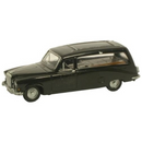 Oxford Diecast Black Hearse Daimler DS420