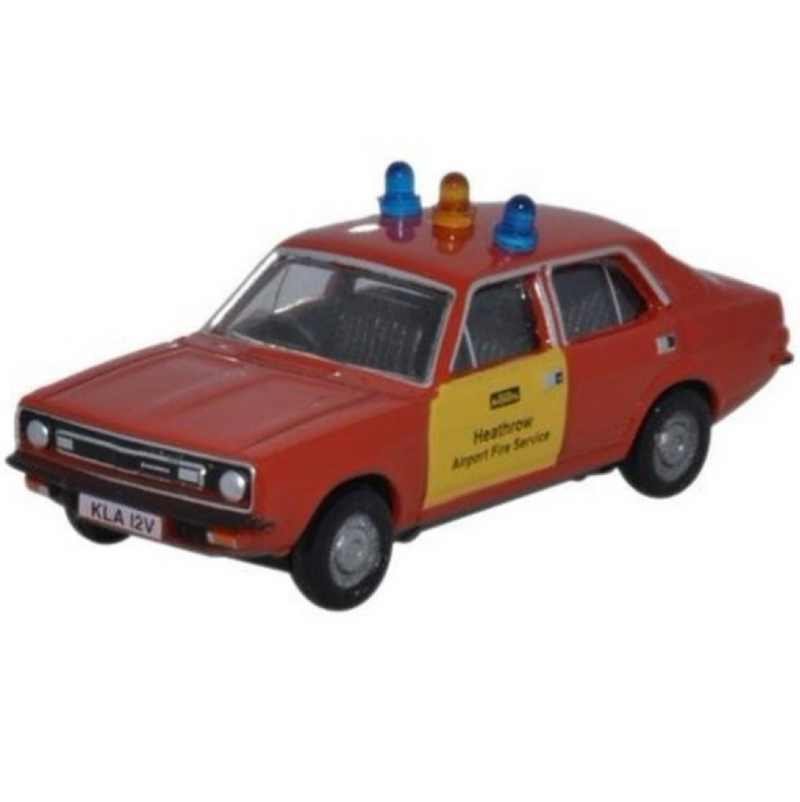 Oxford Diecast Morris Marina Heathrow Fire Service
