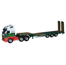 Oxford Diecast Volvo FH3 3 Axle Nooteboom Semi Low Loader Stobart