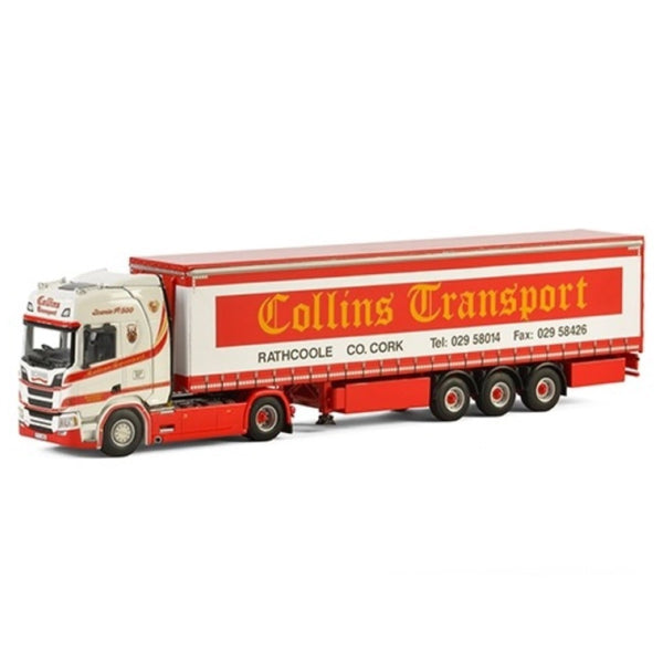 WSI Scania R Highline CR20H Collins Transport - Ireland