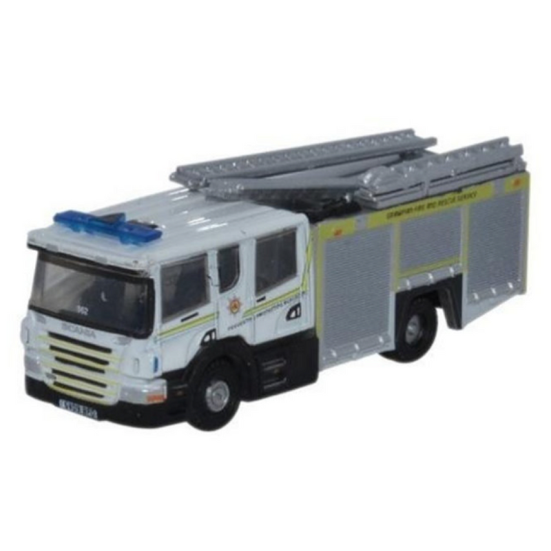Oxford Diecast Scania Pump Ladder Grampian Fire and Rescue