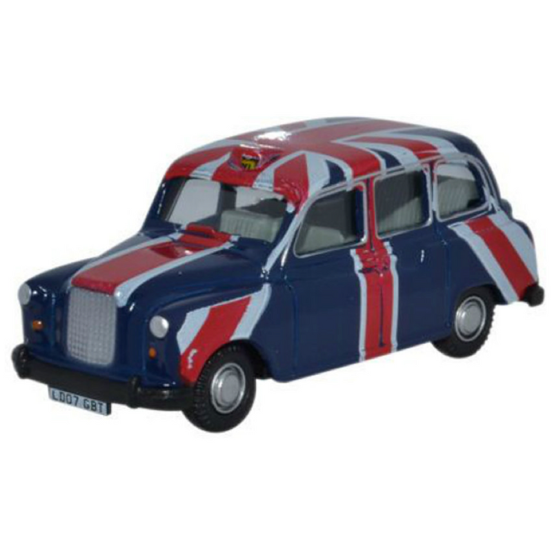 Oxford Diecast FX4 Taxi Union Jack