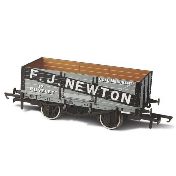 Oxford Rail 6 Plank Wagon - FJ Newton Coal Merchants
