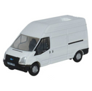 Oxford Diecast Ford Transit LWB High Roof - White