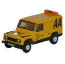 Oxford Diecast Land Rover Defender LWB Hard Top - AA