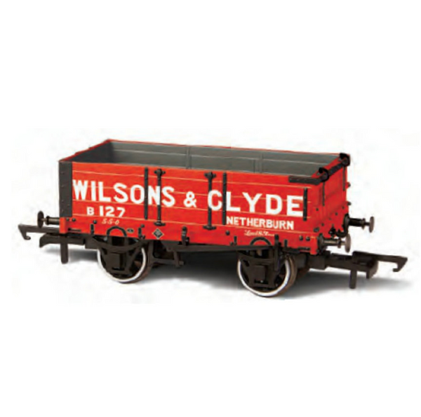Oxford Rail 4 Plank Mineral Wagon - Wilsons & Clyde