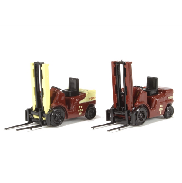 BT Models Forklift Twin Pack - British Railways
