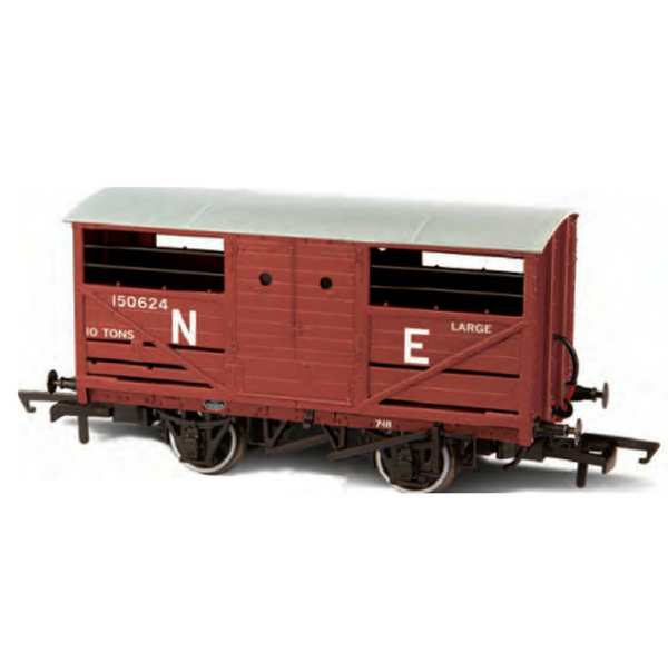 Oxford Rail Cattle Wagon - LNER