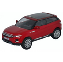 Oxford Diecast Range Rover Evoque - Firenze Red
