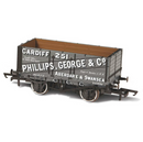 Oxford Rail 7 Plank Mineral Wagon - George & Co '251'