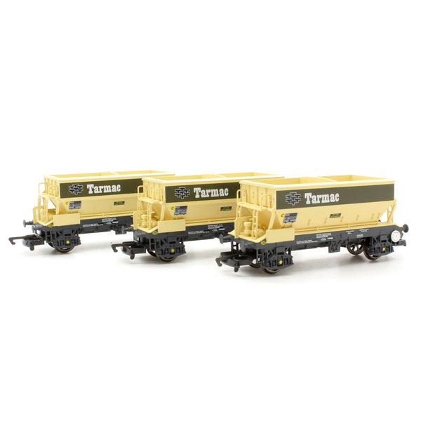 Hornby PGA Hopper Wagons, Three Pack, Tarmac