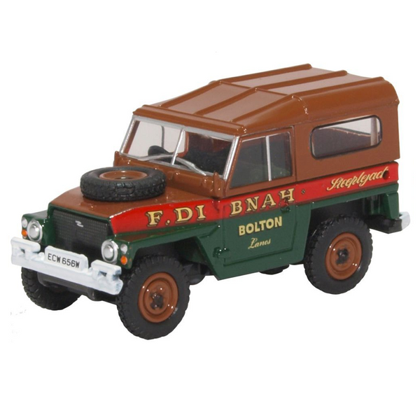 Oxford Diecast 76LRL006 Land Rover - Fred Dibnah