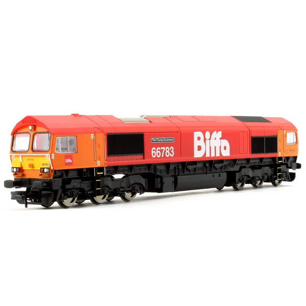 Hornby R3779 GBRf, Class 66, Co-Co, 66783 'The Flying Dustman'