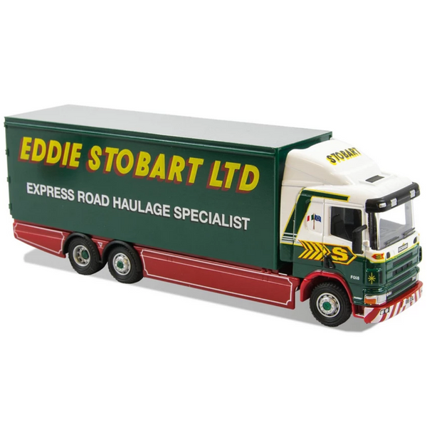 Atlas Editions Scania 94D Rigid Box Van - Eddie Stobart