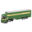 Oxford Diecast NMB006 Mercedes Actros Curtainside Sparks