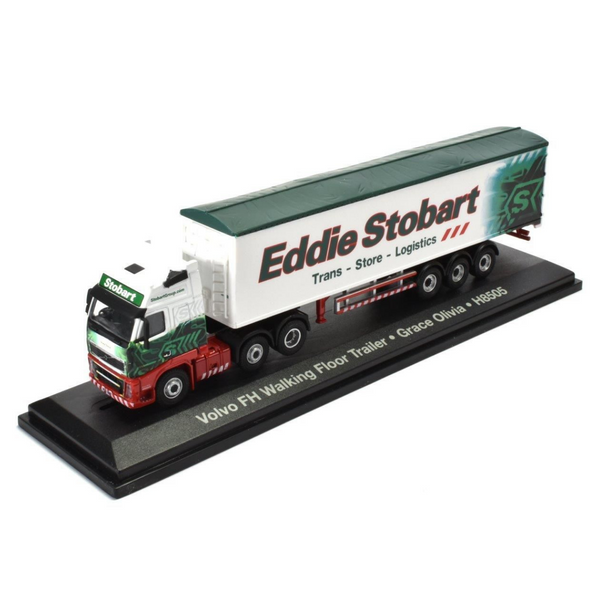 Atlas Editions Volvo FH 460 Walking Floor Trailer - Eddie Stobart
