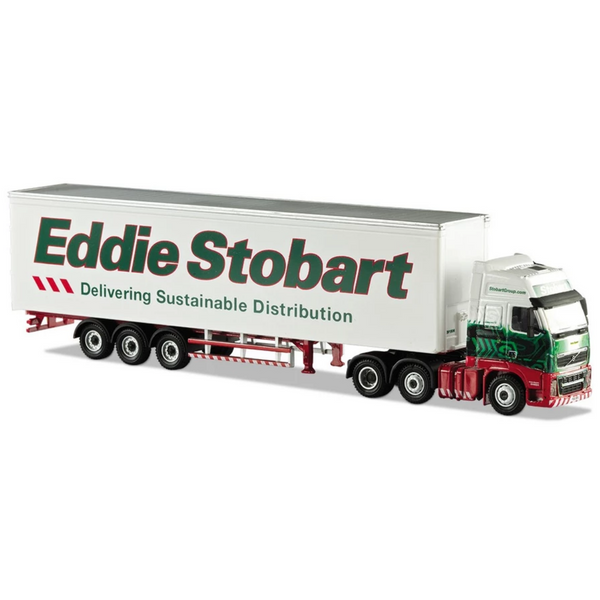 Atlas Editions Volvo FH 460 Box Trailer - Eddie Stobart