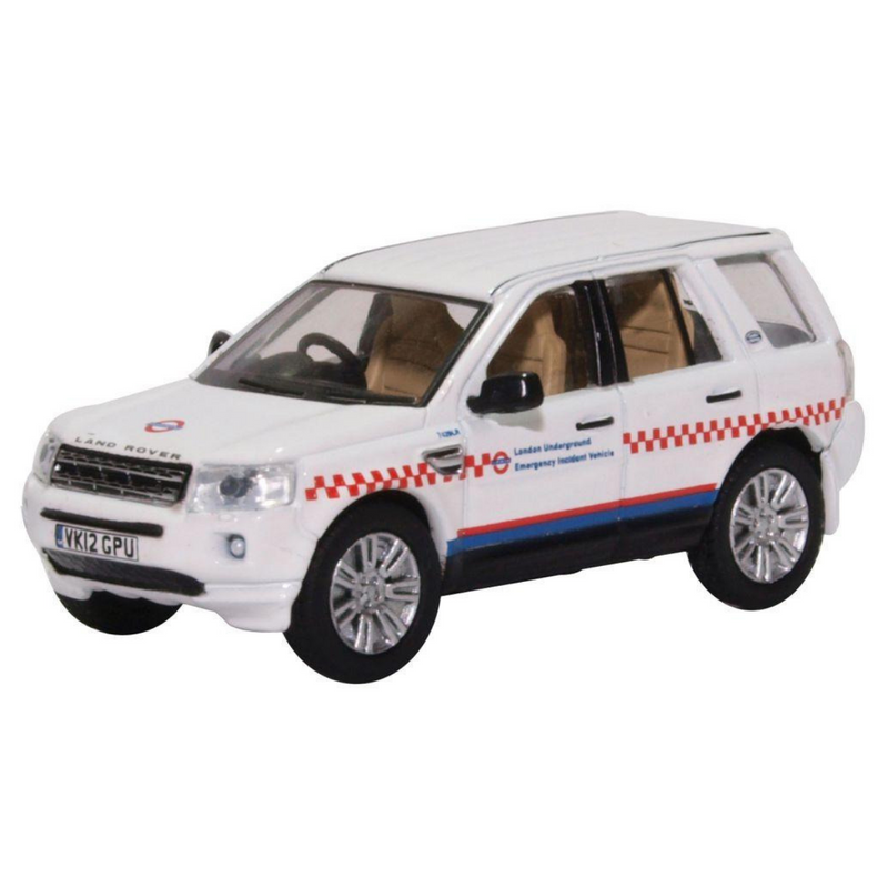 Oxford Diecast 76FRE005 Land Rover Freelander - London Underground