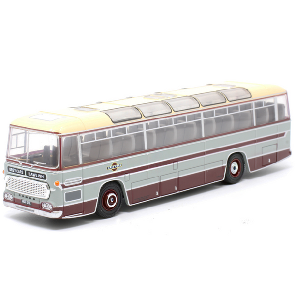 Oxford Diecast 76DC002 Duple Commander MKII - Grey Cars