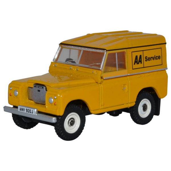 Oxford Diecast 76LR3S002 Land Rover Series III Hard Top - AA