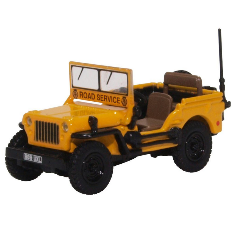 Oxford Diecast 76WMB005 Willys MB AA