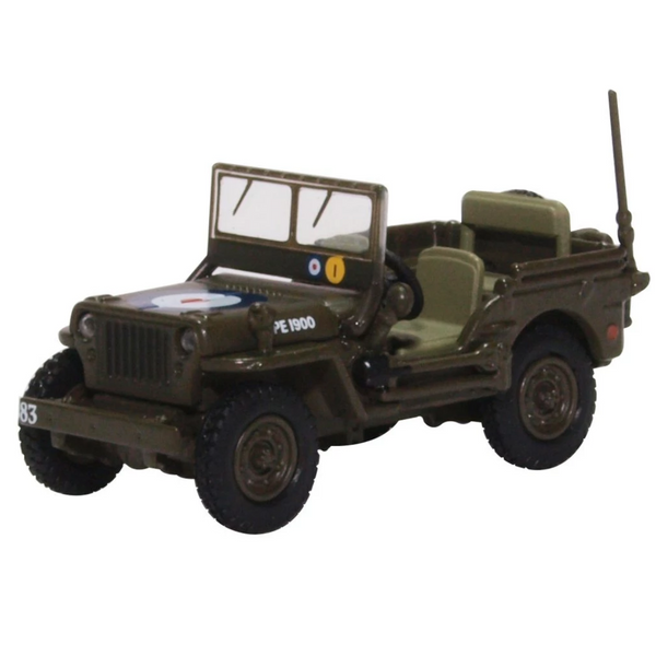 Oxford Diecast 76WMB004 Willys MB RAF 83 Grp.2nd Tactical AF - 1944/5