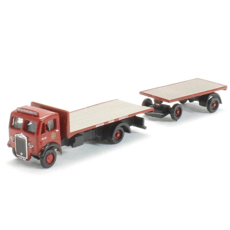BT Models N010 Albion CX3 and Flatbed Trailer - BRS