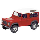 Schuco 3310043 Land Rover Defender 90 SWB - Red