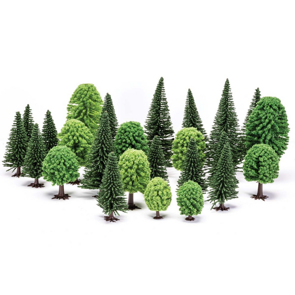 Hornby R7201 Hobby' Mixed (Deciduous and Fir) Trees