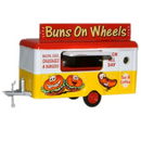 Oxford Diecast NTRAIL006 Mobile Trailer - Buns on Wheels