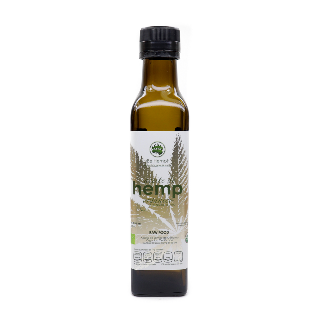Be Hemp! Aceite de hemp orgánico 250 ml