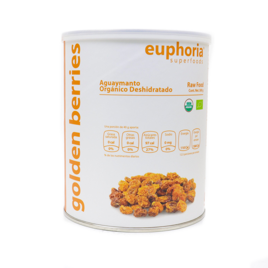 Euphoria Superfoods Golden berries orgánico 500 g