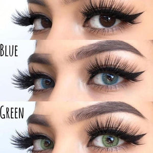 Ocean Green Prescription Colored Contact Lenses