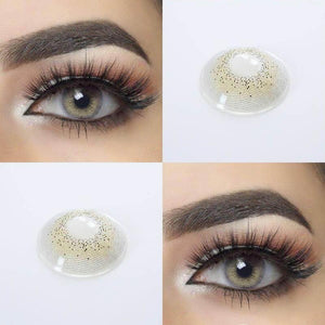 Ocean Sky Gray Colored Contact Lenses