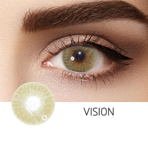 Vision Green Colored Contact Lenses
