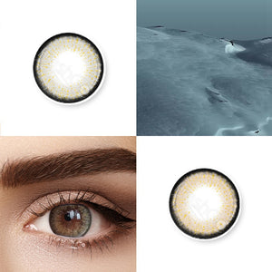 Aurum Grey Colored Contact Lenses