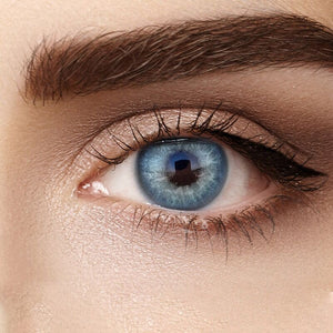 Himalayan Blue Colored Contact Lenses