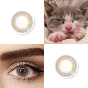 Kiki Grey Colored Contact Lenses