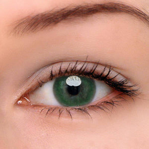 [US Warehouse] Egypt Green Prescription Colored Contact Lenses