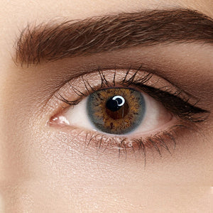 Opal Brown Colored Contact Lenses