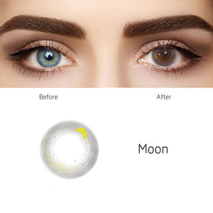 Moon Grey Colored Contact Lenses
