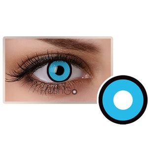[US Warehouse] Circle Blue Colored Contact Lenses