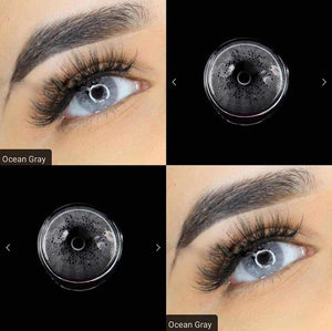 [US Warehouse] Ocean Grey Prescription Colored Contact Lenses