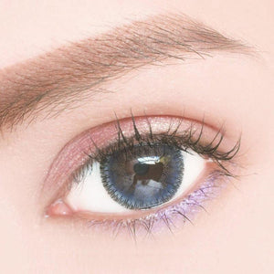 Marble Blue Colored Contact Lenses